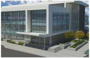New Service Building Rendering