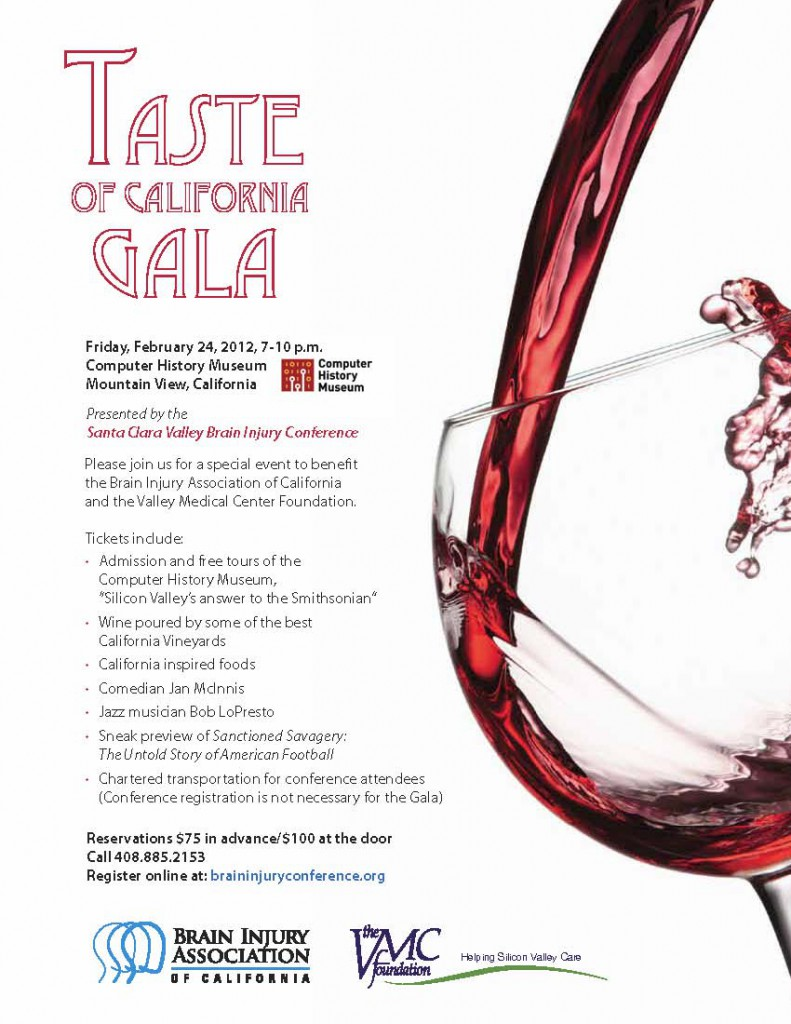 "A ""Taste of California"" Gala Invitation"