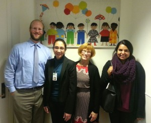 Members of the Silicon Valley Medical-Legal Partnership Clinic team: Dan Szrom, Dr. Lee Anna Botkin, Patti Massey, and Maighna Jain.